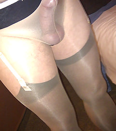 Lacy knickers and some horny crossdressing sluts
