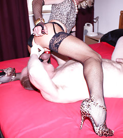 Kim gets bent over and fucked hard by one of her admirers